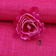 Deep Pink Sinamay